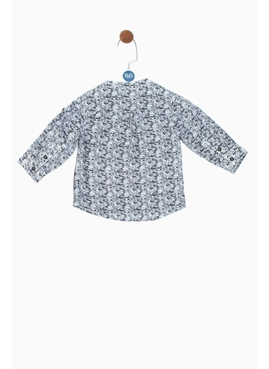 BG Baby Erkek Bebek Desenli Gömlek 19SS0BG1605 Renkli